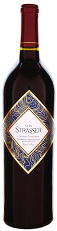Von Strasser Cabernet Sauvignon Diamond Mountain Napa Valley